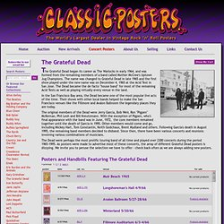 Classic Posters - Grateful Dead Vintage Poster and Handbill Collection