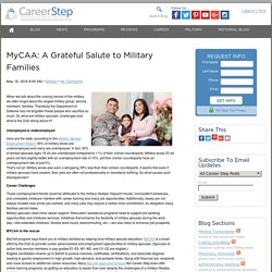 Military Spouse Career Development With MyCAA