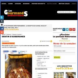 GRATIN D'AUBERGINES