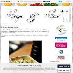 Gratin de ravioles au chèvre - Coupe et cuit
