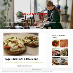Bagels Gratinés à l'Italienne