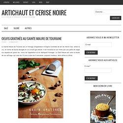 Oeufs gratinés au Sainte Maure de Touraine