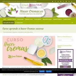 ✅ Curso gratis para aprender a hacer Cremas caseras