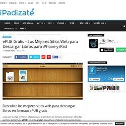 ePUB Gratis - Webs para Descargar Libros Electrónicos ePUB