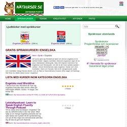 Gratis kurser i engelska på nätet - lär dig engelska idag!