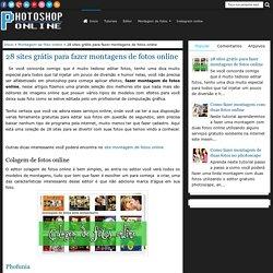 28 sites grátis para fazer montagens de fotos online - Photoshop online