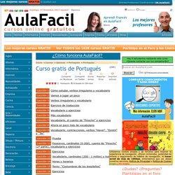 Curso Gratis de Portugués - Índice de lecciones