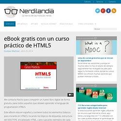 eBook gratis con un curso práctico de HTML5