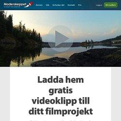 Ladda hem gratis videoklipp till ditt filmprojekt
