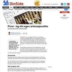 Gratisprogrammer: Pivot - lag din egen animasjonsfilm