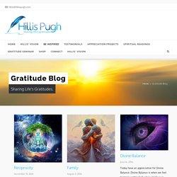Gratitude Blog - Gratitude