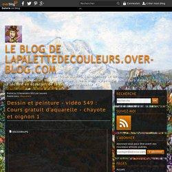 vidéo 549 : Cours gratuit d'aquarelle - chayote et oignon 1