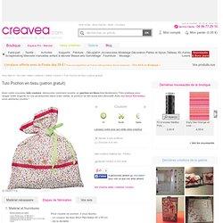 Tuto Pochon en tissu (patron gratuit) - Idées et conseils Couture