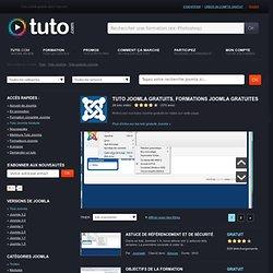 GRATUIT JOOMLA, Formation gratuite Joomla sur Tuto
