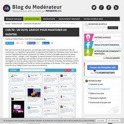 cur.to : un outil gratuit pour monitorer un hashtag