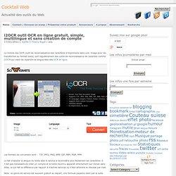 i2OCR OCR en ligne gratuit multilingue sans compte