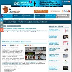 Cours gratuit de culture numérique : nouvelle version