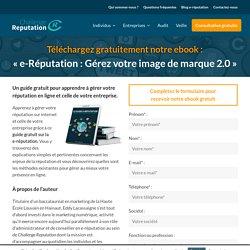 eBook gratuit sur la e-réputation