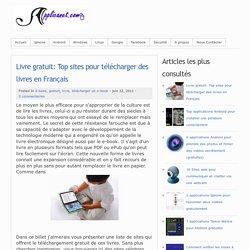 Livre gratuit: Top sites pour tlcharger des livres en Franais