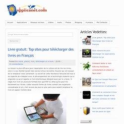 Top sites pour télécharger des livres en Français