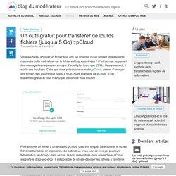 Un outil gratuit pour transférer de lourds fichiers (jusqu'à 5 Go) : pCloud