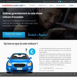 Cote auto gratuit - achat vente voiture occasion : Ouest France Auto