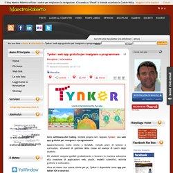 Tynker: web app gratuita per insegnare a programmare