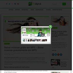 Baixar músicas grátis em MP3 - Baixe músicas gratuitamente em MP3 - fcdigital