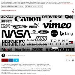 40 Font famosi da scaricare GRATUITAMENTE! – ROBADAGRAFICI.NET