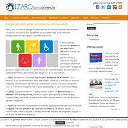 7 apps gratuitas para personas con discapacidad