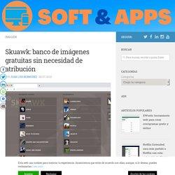 Skuawk: banco de imágenes gratuitas sin necesidad de atribución