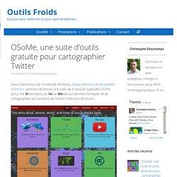 OSoMe, une suite gratuite pour cartographier Twitter
