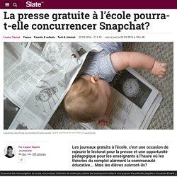 La presse gratuite à l'école pourra-t-elle concurrencer Snapchat?