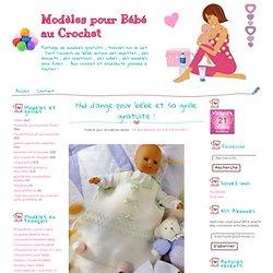 Nid d'ange pour bébé et sa grille gratuite