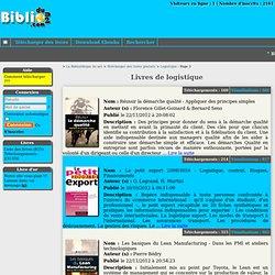 Télécharger gratuitement des livres de logistique : Gestion de production