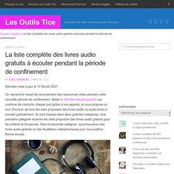 Tous les livres audio à écouter gratuitement pendant le confinement - Novembre 2020
