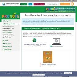 Télécharger et installer gratuitement Profnote