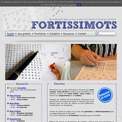 Mots fléchés et autres jeux de lettres à imprimer gratuitement