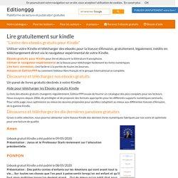 Lire gratuitement sur kindle - Edition999