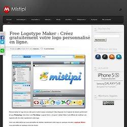 Free Logotype Maker : Créez gratuitement votre logo personnalisé en ligne.