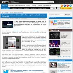 Getty Image partage gratuitement 35 millions de photographies de sa base de données