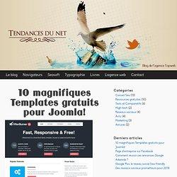 10 templates joomla gratuitement