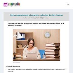 Réviser gratuitement à la maison : sélection de sites Internet - VousNousIls