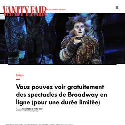 Vous pouvez voir gratuitement des spectacles de Broadway en ligne (pour une durée limitée)