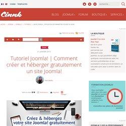 Comment créer et héberger gratuitement un site Joomla! - Tutoriels Joomla! 3 gratuits