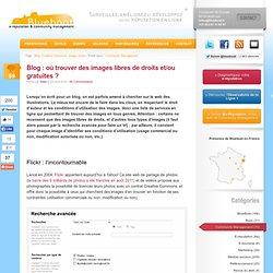 Blog : où trouver des images libres de droits et/ou gratuites ?