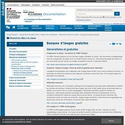 Banques d'images gratuites — Documentation (CDI)