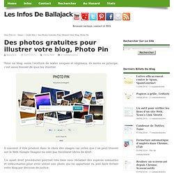 Des photos gratuites pour illustrer votre blog, Photo Pin