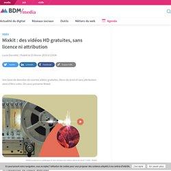 Mixkit : des vidéos HD gratuites, sans licence ni attribution
