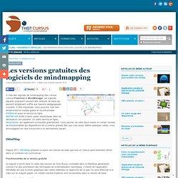 Les versions gratuites des logiciels de mindmapping